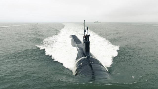"""Khám phá tàu ngầm tấn công hạt nhân """"sát thủ"""" Mỹ vừa hạ thủy"""
