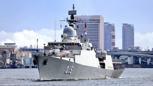 Chiến hạm Trần Hưng Đạo rời Nhật Bản đến Hàn Quốc