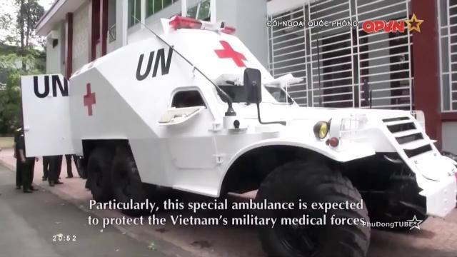 Chiếc xe thiết giáp cứu thương đặc biệt
