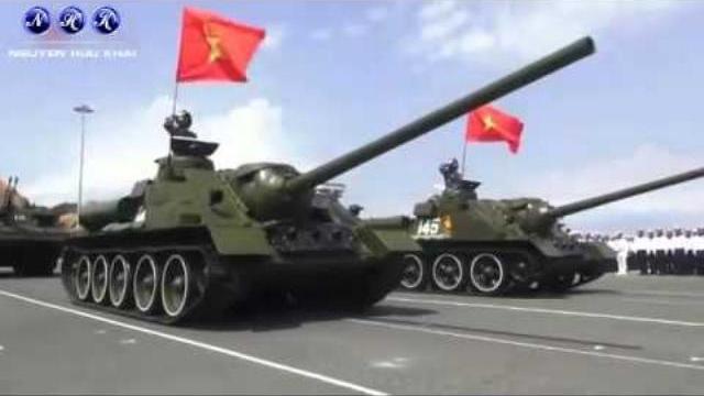 Hải quân Việt Nam diễu binh 2/5/2015 Vũ khí trên bộ và trên biển