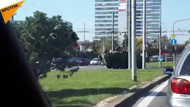 """Nghi vấn Mỹ """"âm thầm"""" đưa khí tài quân sự sát vách Nga"""