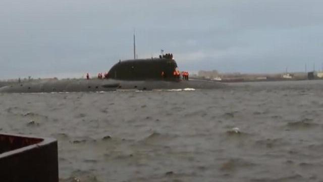 Tàu ngầm Kazan Nga thực hiện chuyến đi biển đầu tiên