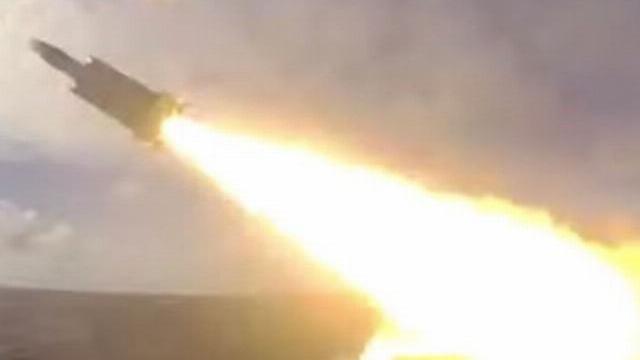 Video tên lửa Hsiung Feng-3 của Đài Loan được phóng đi.