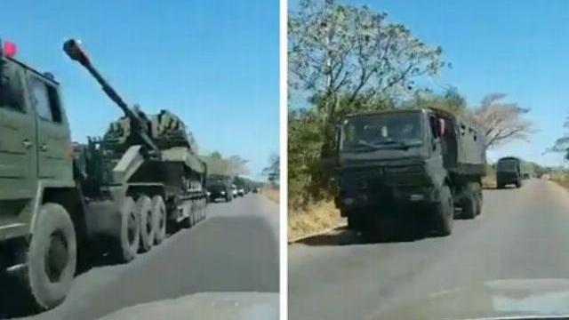 Venezuela đưa pháo tự hành 2S19 MSTA-S của Nga tới biên giới Colombia?