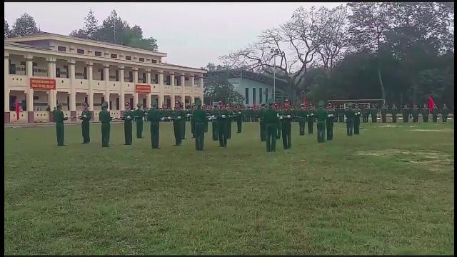 Múa súng CKC trong quân đội nhân dân