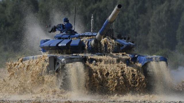 Sự cố khiến đội Việt Nam bắn pháo không tốt trong chung kết Tank Biathlon