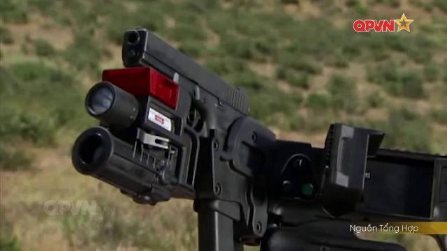 """Cận cảnh súng bẻ góc Corner Shot """"cực độc"""" của Đặc nhiệm Việt Nam"""