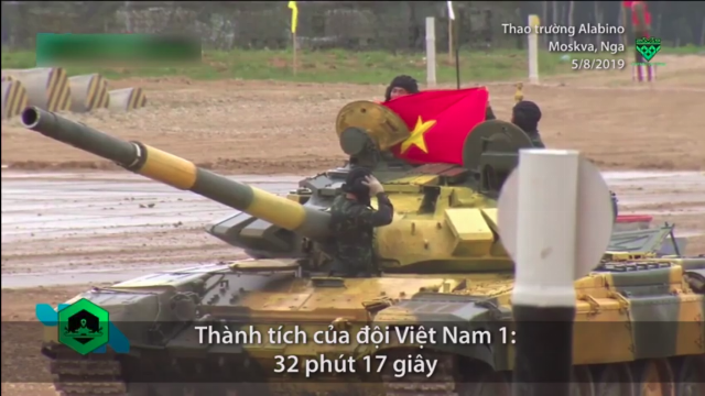 5 ngày đội tuyển xe tăng Việt Nam thi đấu trên đất Nga