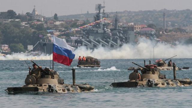 Sức mạnh chiến đấu vô địch của Thủy quân lục chiến Nga