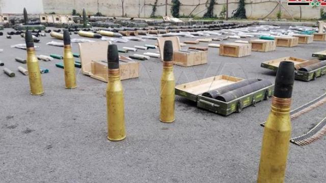 Kho vũ khí của khủng bố mới được phát hiện ở Nam Syria