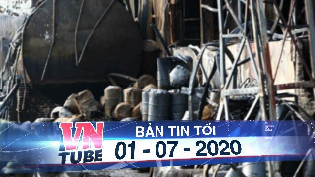 Bộ Tư lệnh hóa học vào cuộc trong vụ cháy ở Long Biên