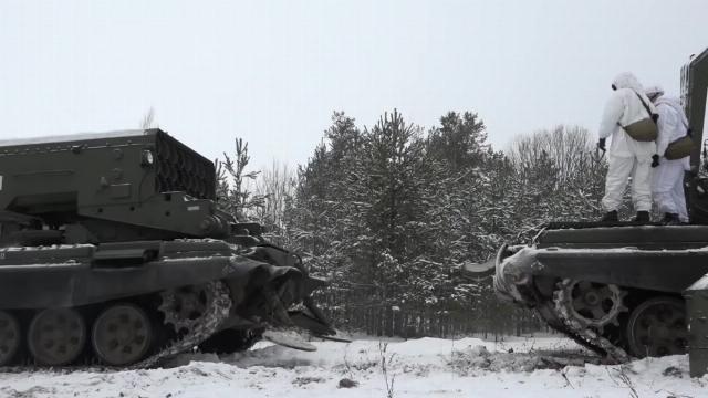 Hệ thống súng phun lửa hạng nặng TOS-1A của Nga