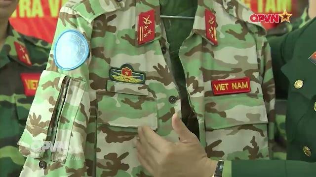 Hé lộ Quân phục mới của Lực lượng gìn giữ Hòa bình Việt Nam