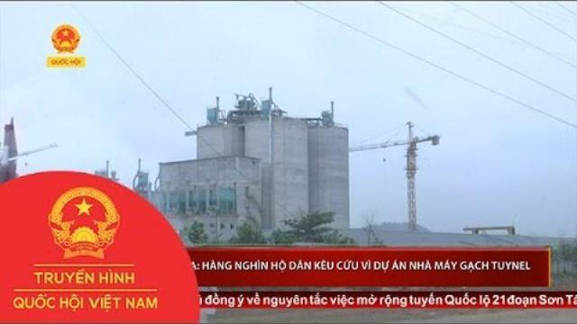 Thanh Hóa: Hàng nghìn hộ dân kêu cứu vì dự án nhà máy gạch Tuynel sắp khởi công