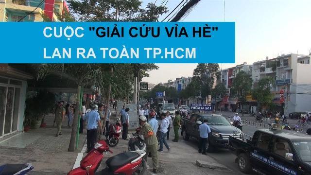 Ông Đoàn Ngọc Hải không đơn độc, cuộc chiến vỉa hè đã lan ra toàn TP.HCM