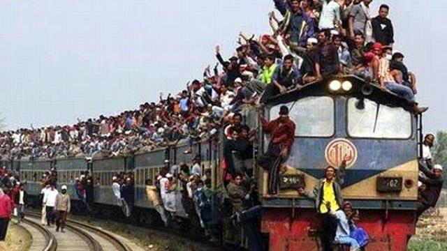 Phương tiện tàu hỏa đường dài Bangladesh với năng suất 2.000%