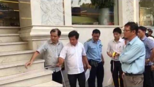 Ông Đoàn Ngọc Hải ra lệnh xử trảm 9 bậc thang khách sạn Paradise