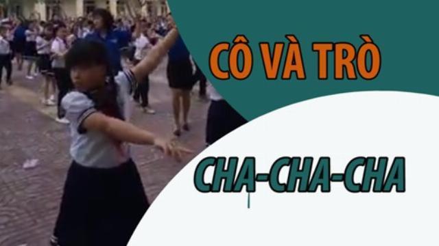 BÃO MẠNG: Cô trò trường tiểu học nhảy 'Cha cha cha' trong giờ thể dục | Thời sự | Thanh Niên