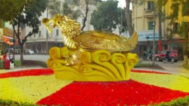 Đúc biểu tượng rùa vàng Hồ Gươm: Người dân nói gì?