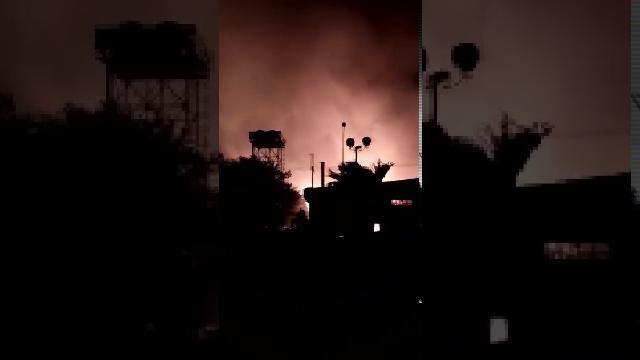 Cháy lớn công ty Nhơn Trạch Đồng Nai ngày 29-3