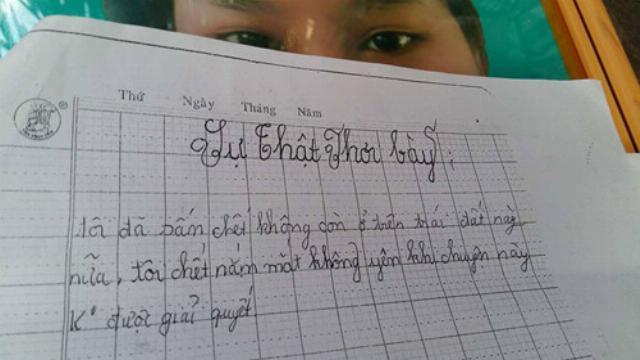 Cô bé lớp 5 bị hiếp dâm và bức thư tuyệt mệnh