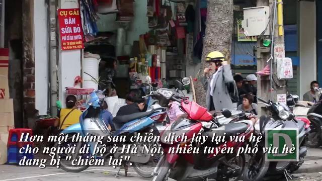 """""""Chiến dịch"""" đòi lại vỉa hè: Hà Nội sẽ làm gì khi nhìn thấy những hình ảnh này?"""