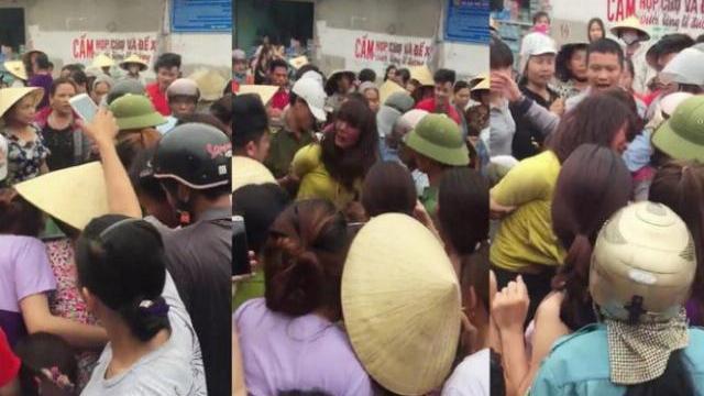 Giải cứu người phụ nữ nghi thôi miên bị dân vây bắt