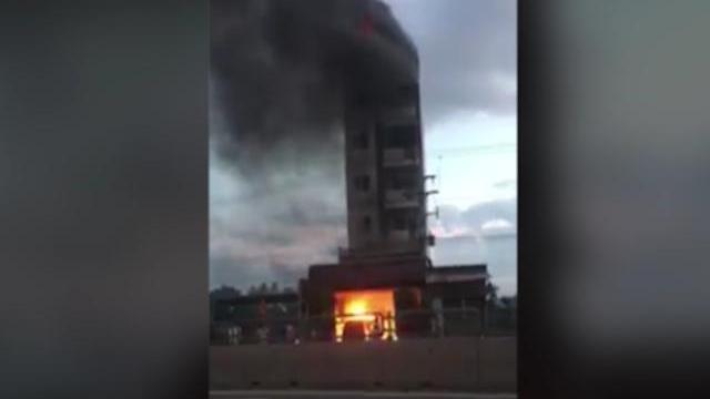 Cháy khách sạn ở Bình Thuận, 9 khách nhảy lầu bị thương