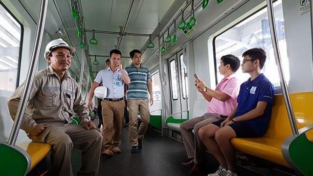 Tận mắt xem nhà ga đường sắt trên cao Hà Đông - Cát Linh