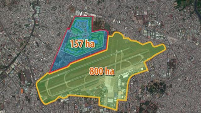 Sân golf 157 ha nằm cạnh bên sân bay Tân Sơn Nhất