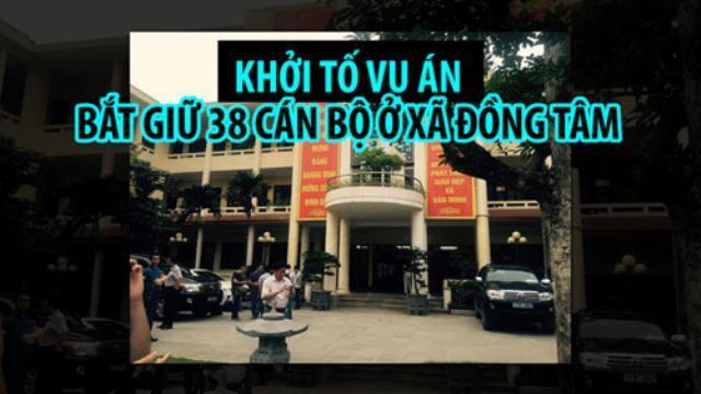 Khởi tố vụ án bắt giữ 38 cán bộ ở xã Đồng Tâm, huyện Mỹ Đức