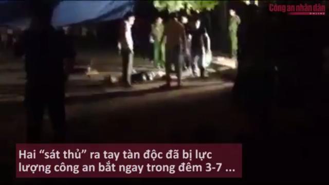Rợn người nghe lời khai của sát thủ máu lạnh chém lìa đầu thanh niên tại Vĩnh Phúc