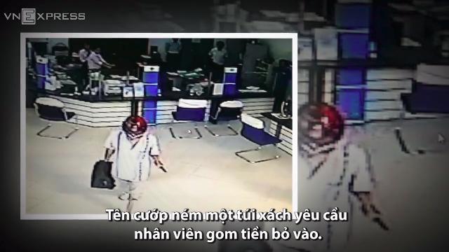 Những đặc điểm nhận diện kẻ cướp ngân hàng ở Vĩnh Long