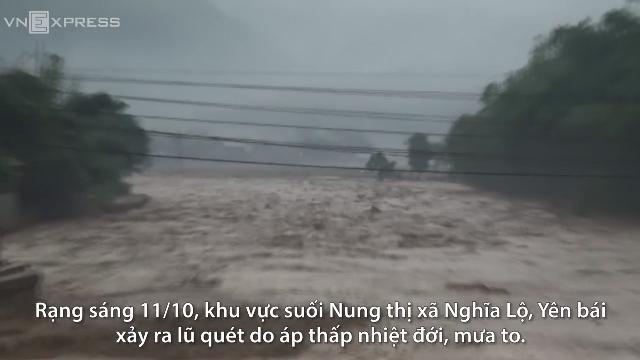 Lũ dữ tàn phá miền tây Yên Bái, thiệt hại hơn 100 tỷ đồng