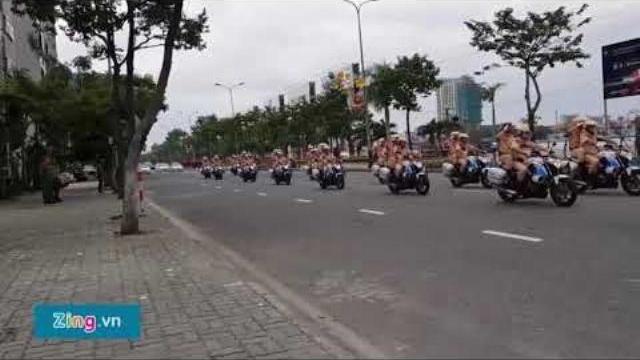 Hơn 1.800 CSGT làm nhiệm vụ trong tuần lễ APEC ở Đà Nẵng
