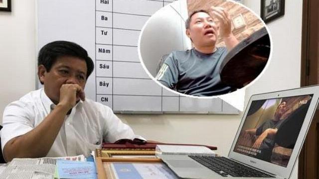 Ông Đoàn Ngọc Hải tăng xông khi xem được video quay lén cấp dưới của mình ăn tiền bảo kê vỉa hè