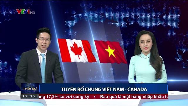 Tuyên bố chung Việt Nam Canada