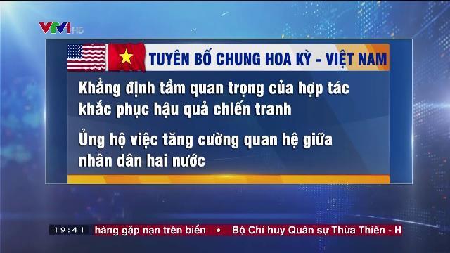 Tuyên bố chung Hoa Kỳ và Việt Nam