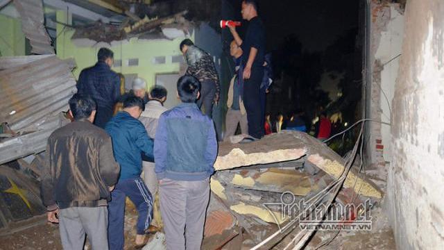 Camera quay lại vụ nổ lớn tại Bắc Ninh