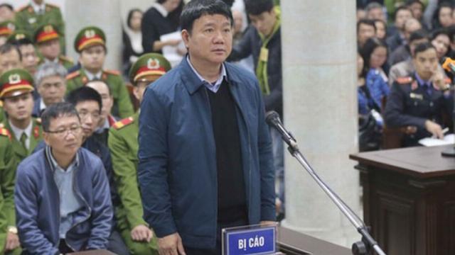 Ông Đinh La Thăng đề nghị xem xét thay đổi biện pháp ngăn chặn