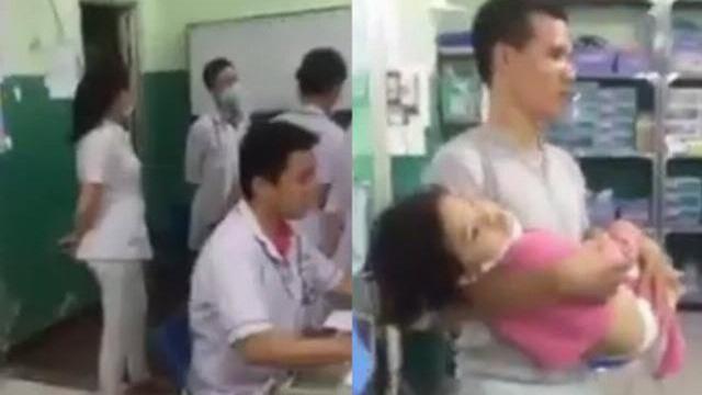 Bỏ mặc bé gái chưa đóng tiền, bác sĩ Bệnh viện đa khoa Hóc Môn gây phẫn nộ