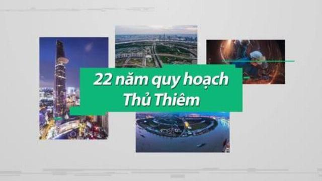 Bán đảo Thủ Thiêm qua 22 năm