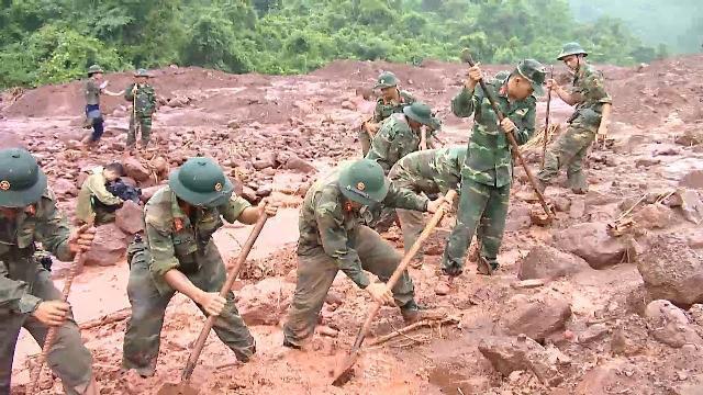 Lai Châu nỗ lực tìm kiếm nạn nhân mất tích