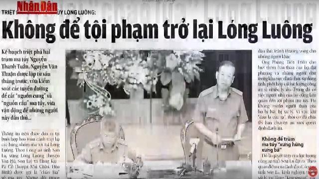Hé Lộ Chiến Thuật Công An Việt Nam Đã Dùng Để Tiêu Diệt 2 Tên Trùm Ma Túy ở Lóng Luông