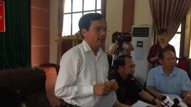 Họp báo ở Hà Giang: Hơn 300 bài thi trắc nghiệm bị sửa điểm