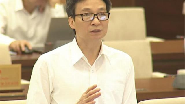 Phó thủ tướng nói về chủ trương không cải cách tiếng Việt.