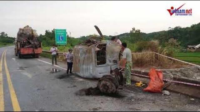 Xe bồn nổ như bom ở Yên Bái: Biến dạng khủng khiếp dưới chân cầu | Tin nóng trong ngày