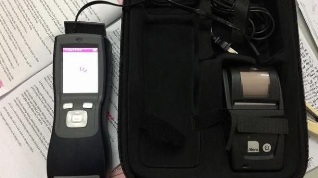 'Bảo bối' phát hiện ma túy của của CSGT Hà Tĩnh