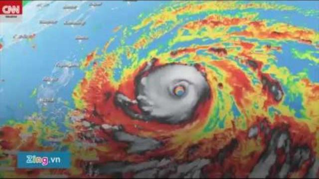 Siêu bão Mangkhut tàn phá Phillippines