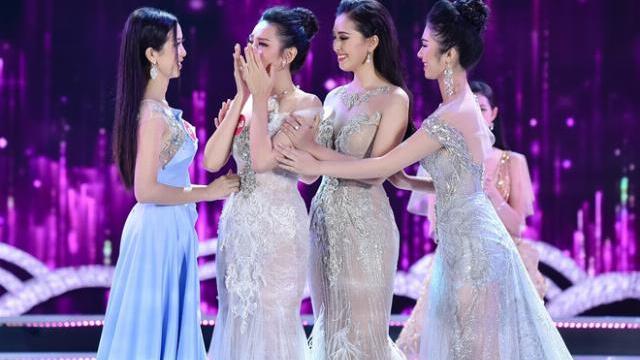 Phần ứng xử top 5 Hoa hậu Việt Nam 2018